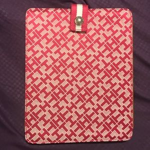 Tommy Hilfiger Pink & White iPad Tablet Case